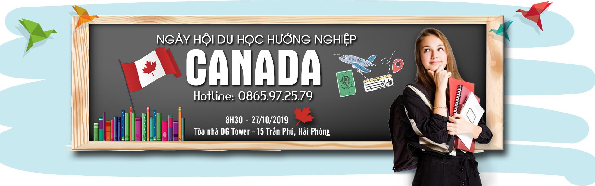 NGÀY HỘI DU HỌC - HƯỚNG NGHIỆP- ĐỊNH CƯ CANADA 2019
