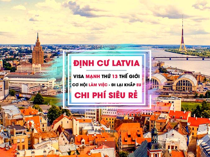 ĐỊNH CƯ LATVIA DIỆN ĐẦU TƯ